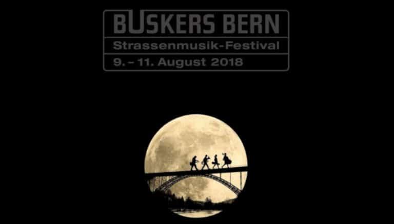 buskers festival in bern vollmond mit musikern